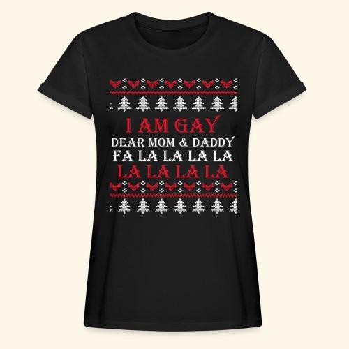Gay Christmas sweater - Koszulka damska oversize