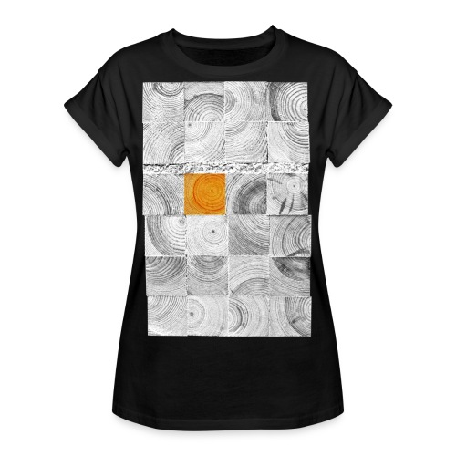 Cubes de Bois - T-shirt oversize Femme