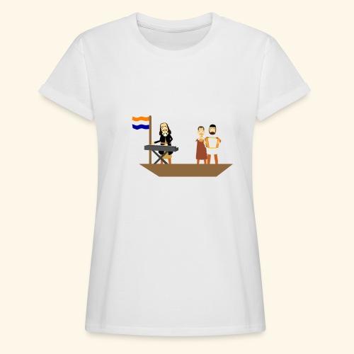Iedereen is van de wereld... - Vrouwen oversize T-shirt