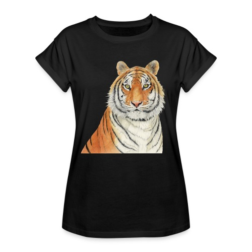 Tigre,Tiger,Wildlife,Natura,Felino - Maglietta ampia da donna
