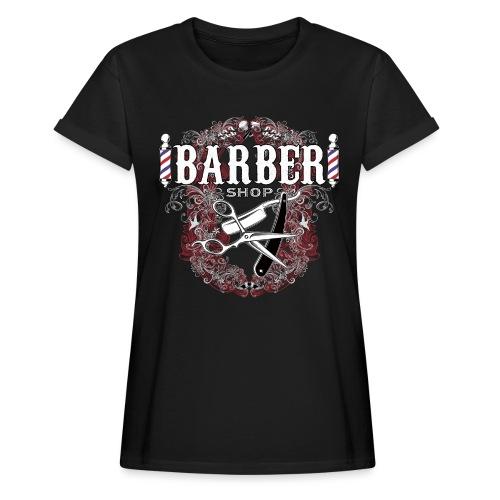 Barber Shop_03 - Maglietta ampia da donna