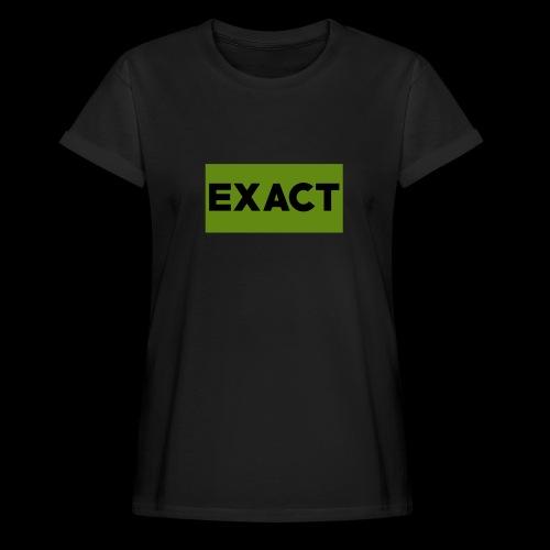Exact Classic Green Logo - Women's Oversize T-Shirt