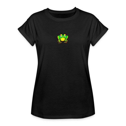 Angry Frog - T-shirt oversize Femme