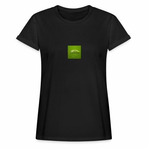 Raksos Logo - Dame oversize T-shirt