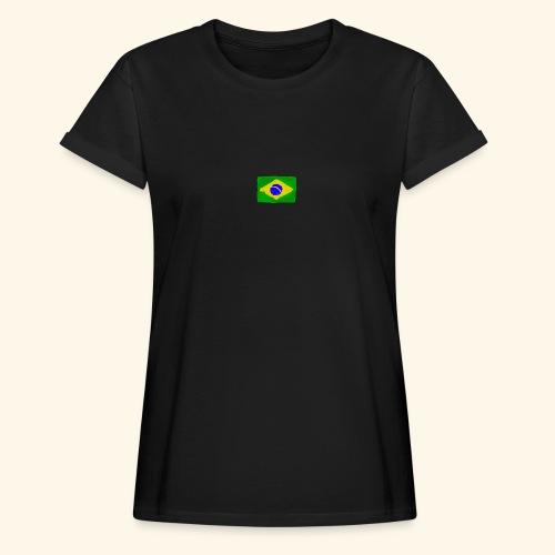 Brazilian flag InWatercolours - Oversize-T-shirt dam