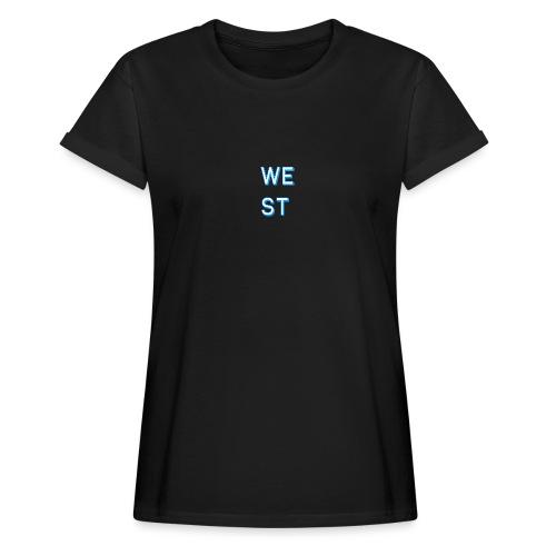 WEST LOGO - Maglietta ampia da donna