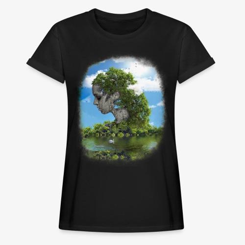 Land of Id - Oversize-T-shirt dam