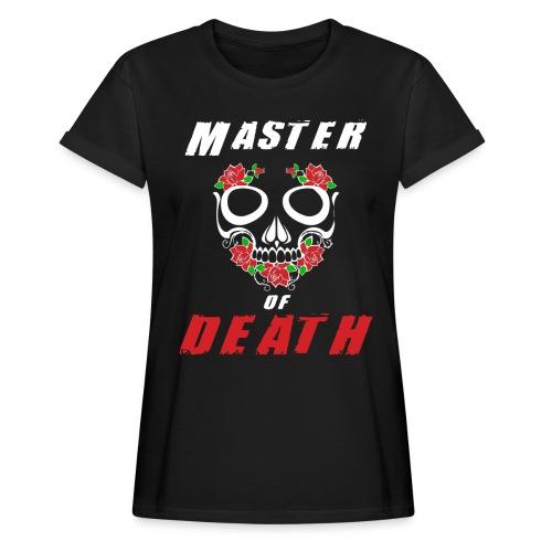 Master of death - white - Koszulka damska oversize