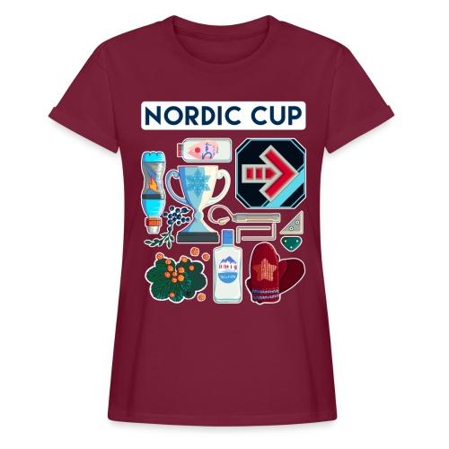Nordic 2018 - Naisten oversized-t-paita
