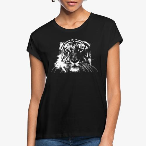 WHITE TIGER - Camiseta holgada de mujer