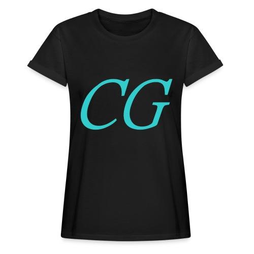 CG - T-shirt oversize Femme