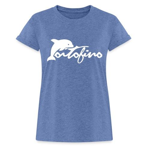 portofino 2019 WHITE - Women's Oversize T-Shirt