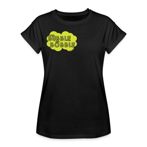 BubbleBobble Gellow - Frauen Oversize T-Shirt