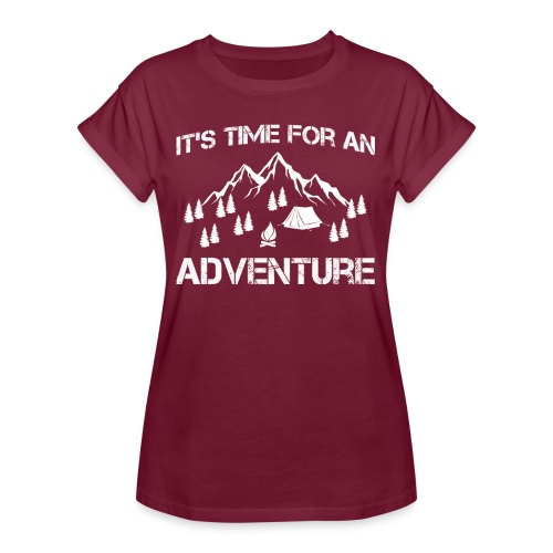 It's time for an adventure - Women's Oversize T-Shirt