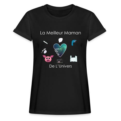 Tee Shirt MAMAN - T-shirt oversize Femme