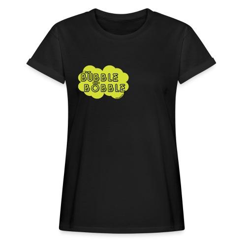 BubbleBobble Gellow - Frauen Oversize T-Shirt