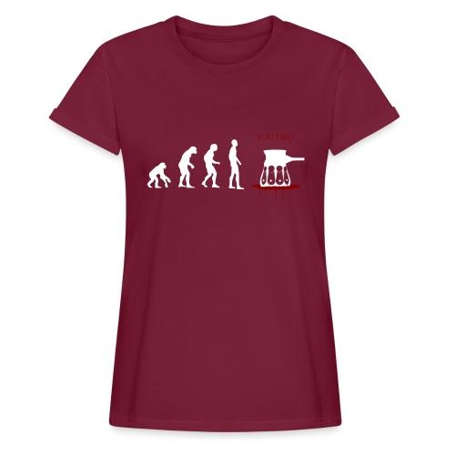 Evoluti...Ops - Maglietta ampia da donna