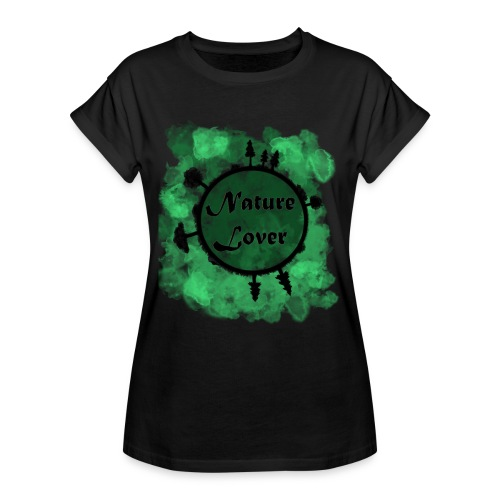 Naturliebhaber - Frauen Oversize T-Shirt
