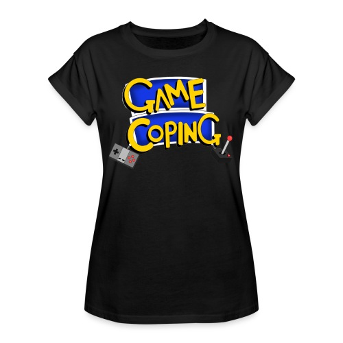 Game Coping Logo - Women's Oversize T-Shirt