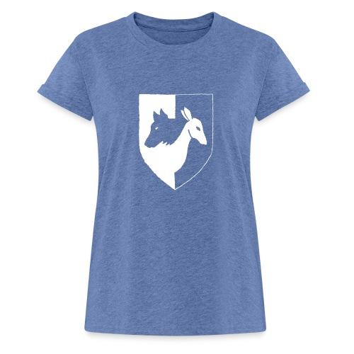 Pyhävuori pelkkä häälogo - Naisten oversized-t-paita
