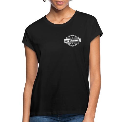 1st4Fitness White Back & Front - Women's Oversize T-Shirt