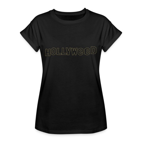 Hollyweed shirt - T-shirt oversize Femme