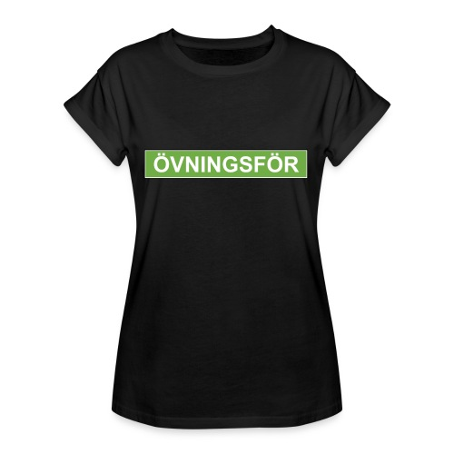 ÖVNINGSFÖR - Oversize-T-shirt dam