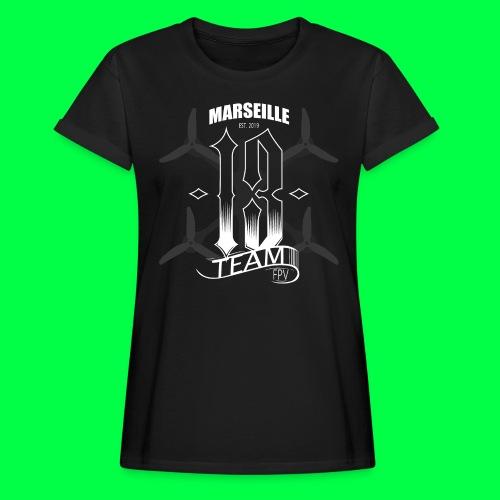TEAM13 FPV tshirt - T-shirt oversize Femme