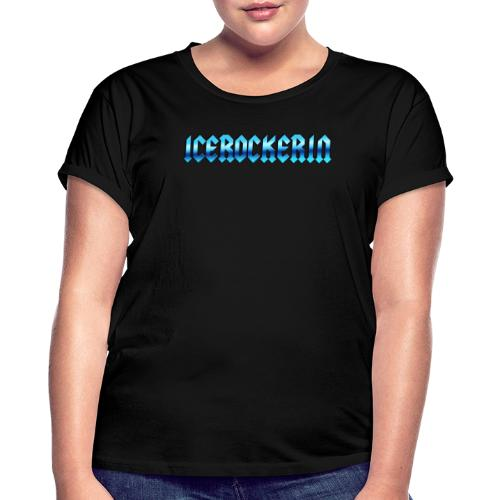 Icerockerin - Frauen Oversize T-Shirt