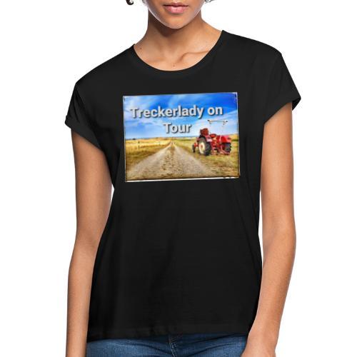 Treckerlady on Tour - Frauen Oversize T-Shirt