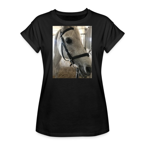 9AF36D46 95C1 4E6C 8DAC 5943A5A0879D - Oversize T-skjorte for kvinner