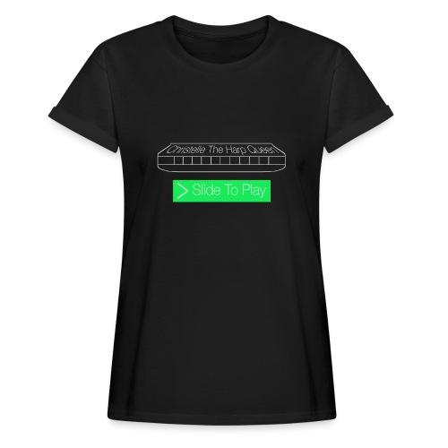 The Harp Queen T Shirt for men - Women's Oversize T-Shirt
