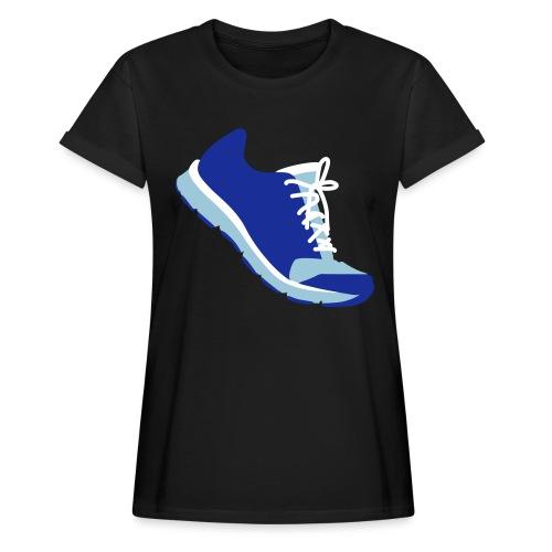 Laufschuh - Frauen Oversize T-Shirt