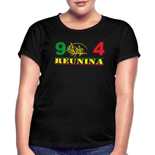 974 ker kreol ikon rasta 01 - T-shirt oversize Femme