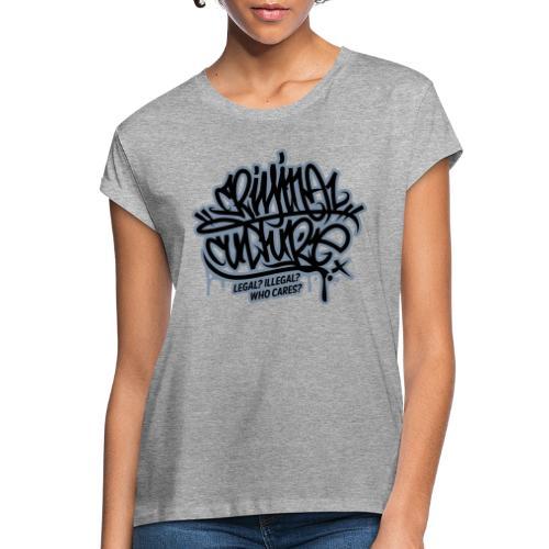 Criminal Culture - Frauen Oversize T-Shirt
