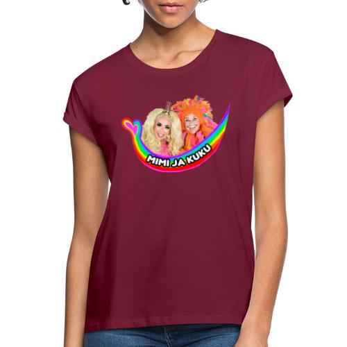 Mimi ja Kuku - Naisten oversized-t-paita