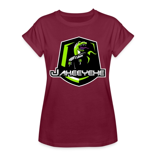 JakeeYeXe Badge - Women's Oversize T-Shirt