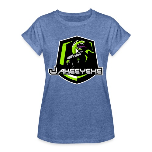 JakeeYeXe Badge - Women's Oversize T-Shirt