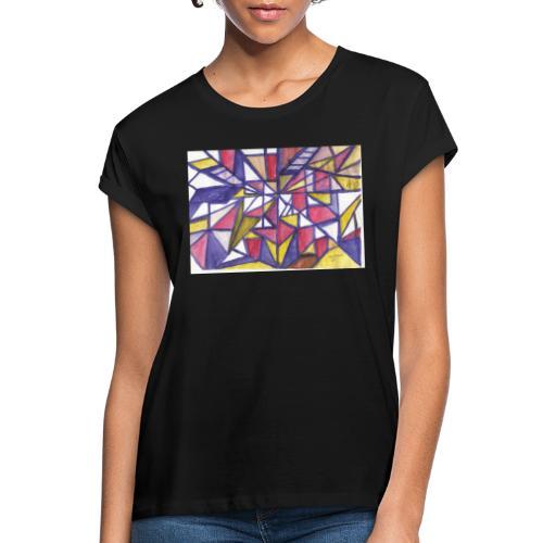 Flickenteppich - Frauen Oversize T-Shirt
