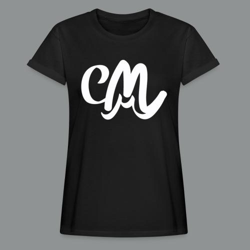 Vrouwen Shirt (voorkant) - Vrouwen oversize T-shirt