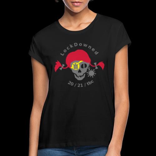 LockDowned - Frauen Oversize T-Shirt