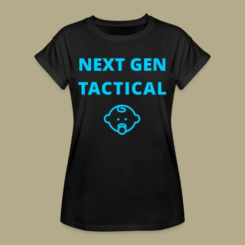 Tactical Baby Boy - Vrouwen oversize T-shirt