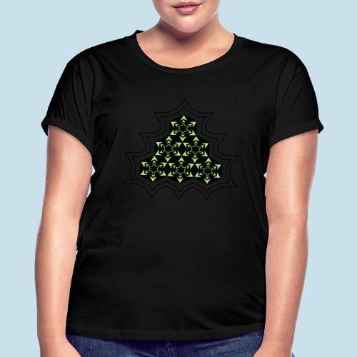 Stern - Frauen Oversize T-Shirt