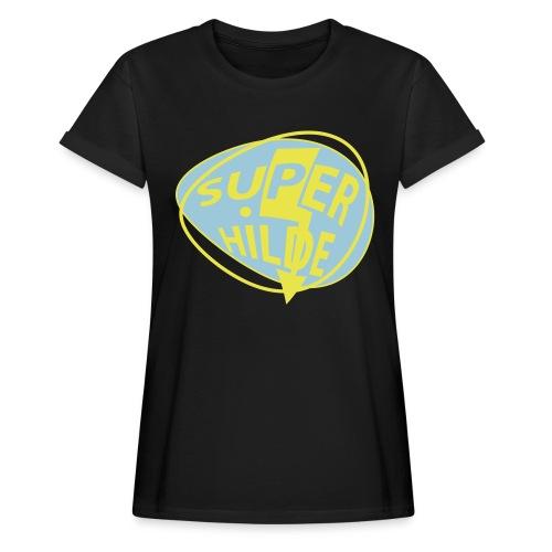 superhilde - Frauen Oversize T-Shirt