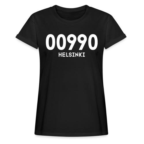 00990 HELSINKI - Naisten oversized-t-paita