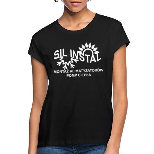 sil instal - Koszulka damska oversize