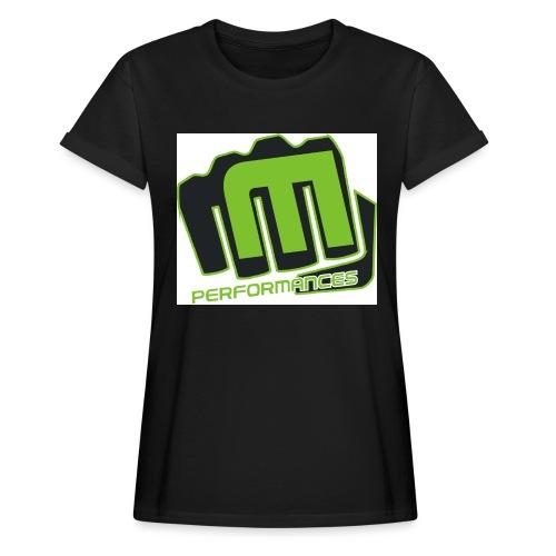 m_performances_jpg - Maglietta ampia da donna