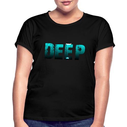 Deep In the Night - Maglietta ampia da donna