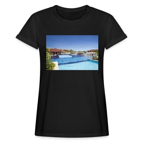 splendide piscine - T-shirt oversize Femme