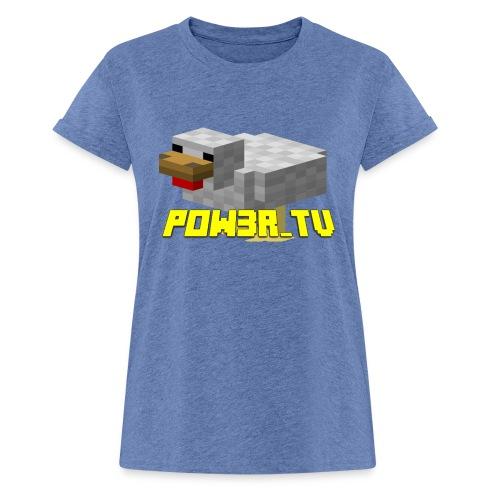 POW3R-IMMAGINE - Maglietta ampia da donna